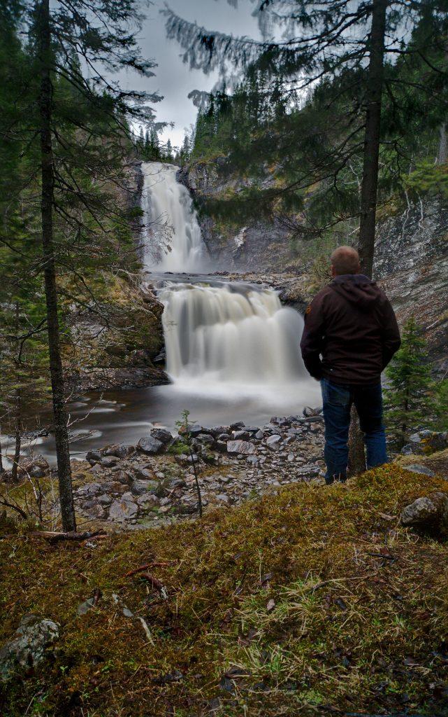 Wasserfall private Führungen Trondheim
