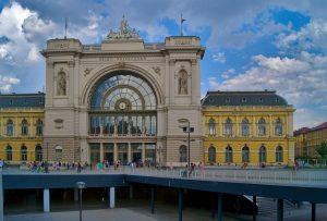 Bahnhof Kelet, Budapest, Interailtour