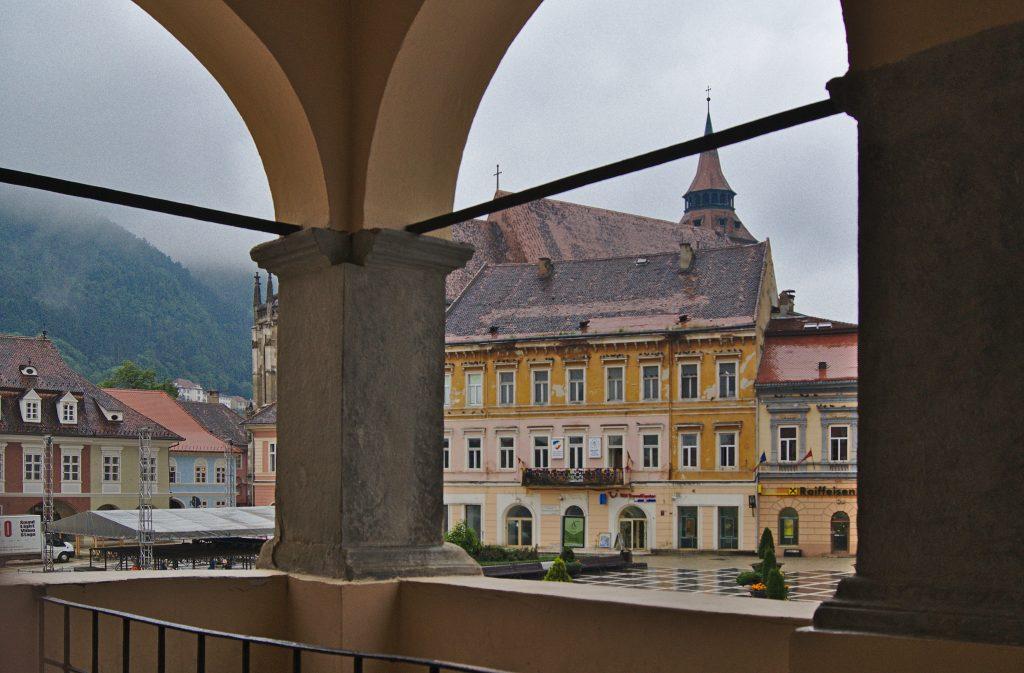 Brasov in Transsilvanien Blick vom Museum