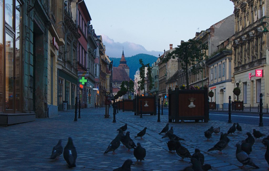 Altstadt Brasov, Rumänien