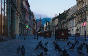 Altstadt Brasov, Interrailtour
