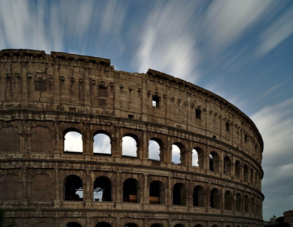 interrail als familienurlaub, Rom Colloseum