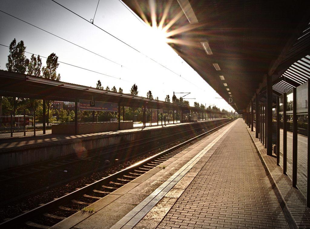 Bahnhof Interrail Schweden nach Deutschland