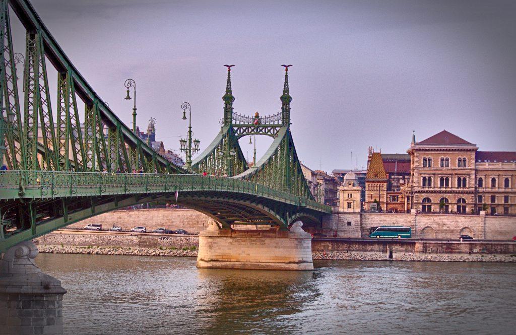 Budapest Freiheitsbruecke, Interrailtour