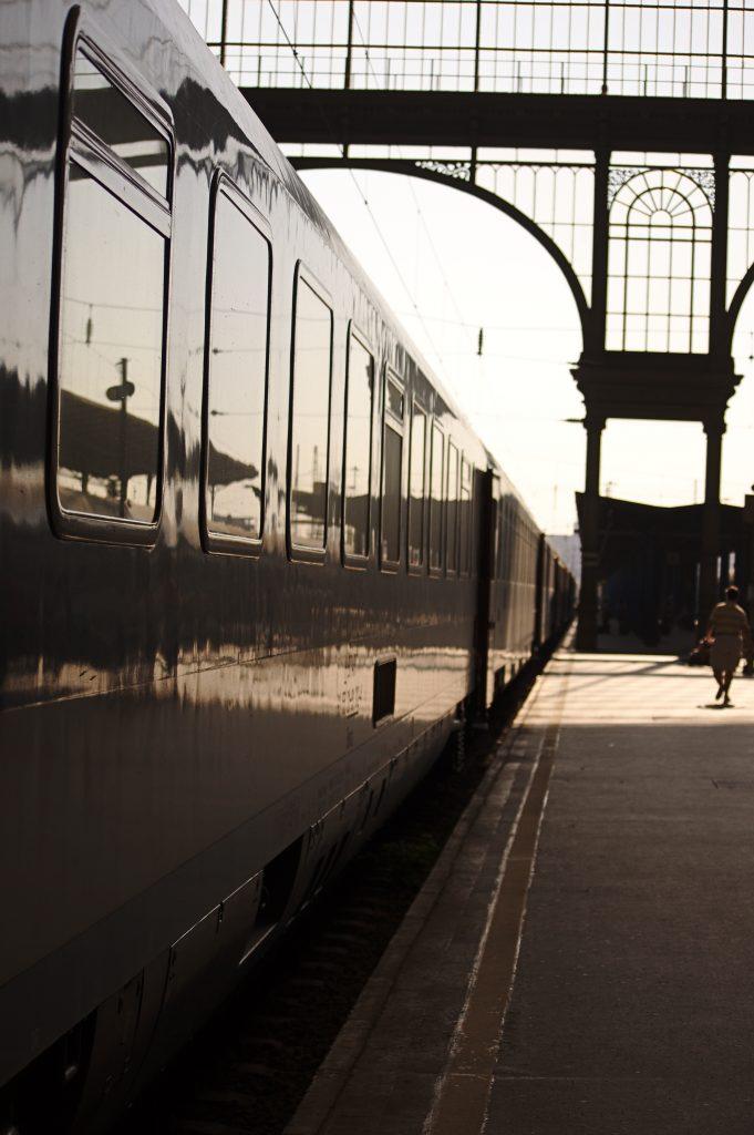 Interrail Zug Bahnhof Budapest Keleti Europa ist für mich