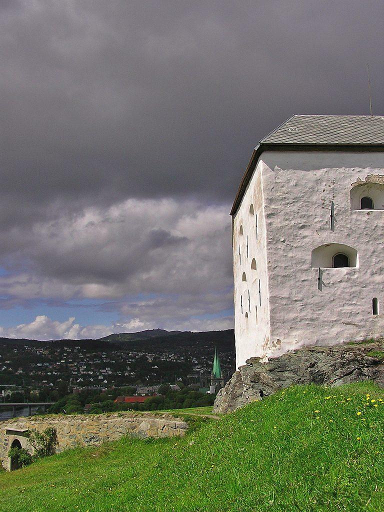 Festung Trondheim mit kIndern