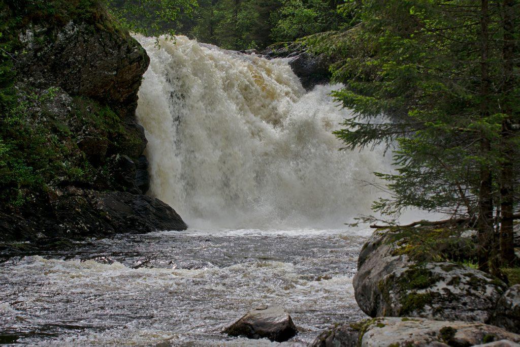 Wasserfall Verschlusszeit