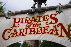irates of the carribeans Disneyland Paris
