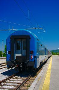 Zug Slowenien, Interrail von ueber Kroatien nach Slowenien