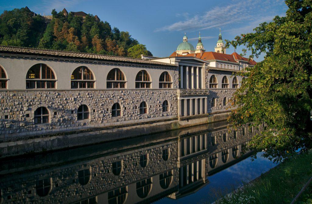 Ljubljana Fluss, Interrail