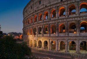 Kolosseum Rom Interrail von Slowenien nach Italien
