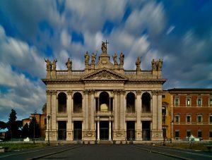 Lateranbasilika Rom Interrail von Slowenien nach Italien