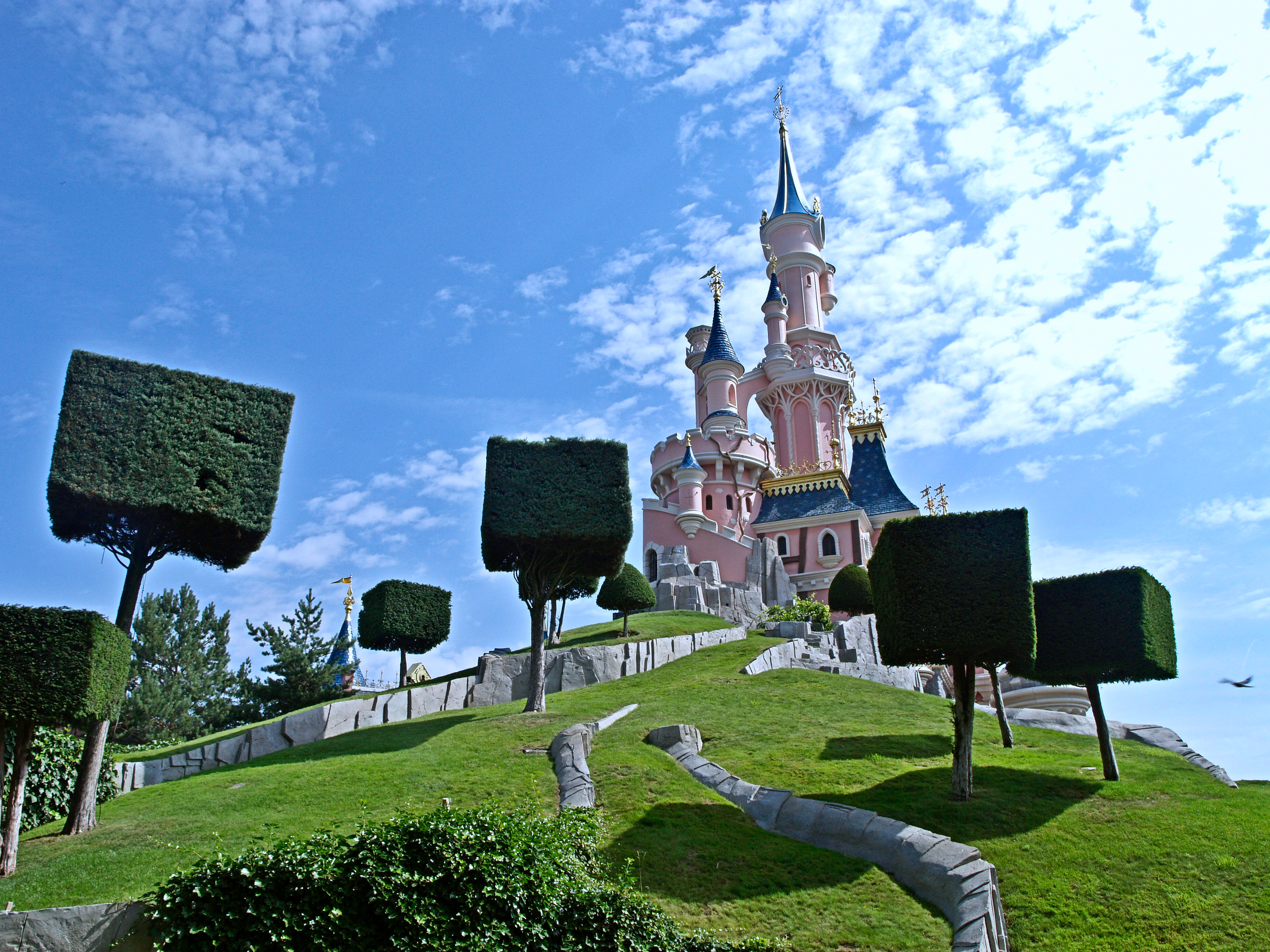 Disney Land Paris Schloss perfekter reisetag