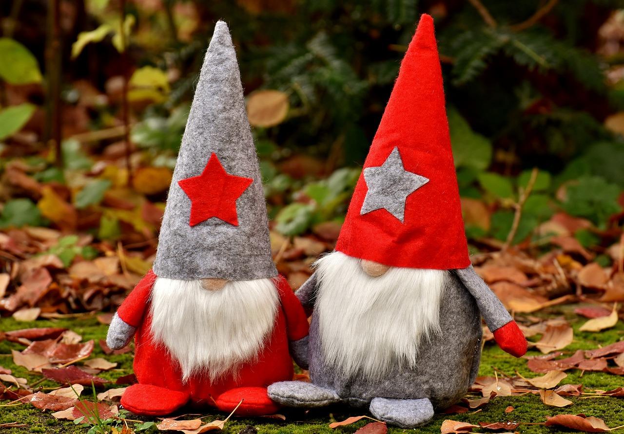 Julenisse, norwegische Weihnachtsfiguren für die Weihnachten in Norwegen.