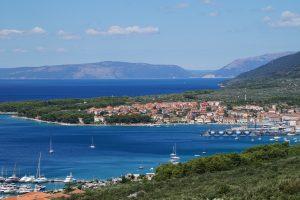 Camping in Kroatien Ausblick adria