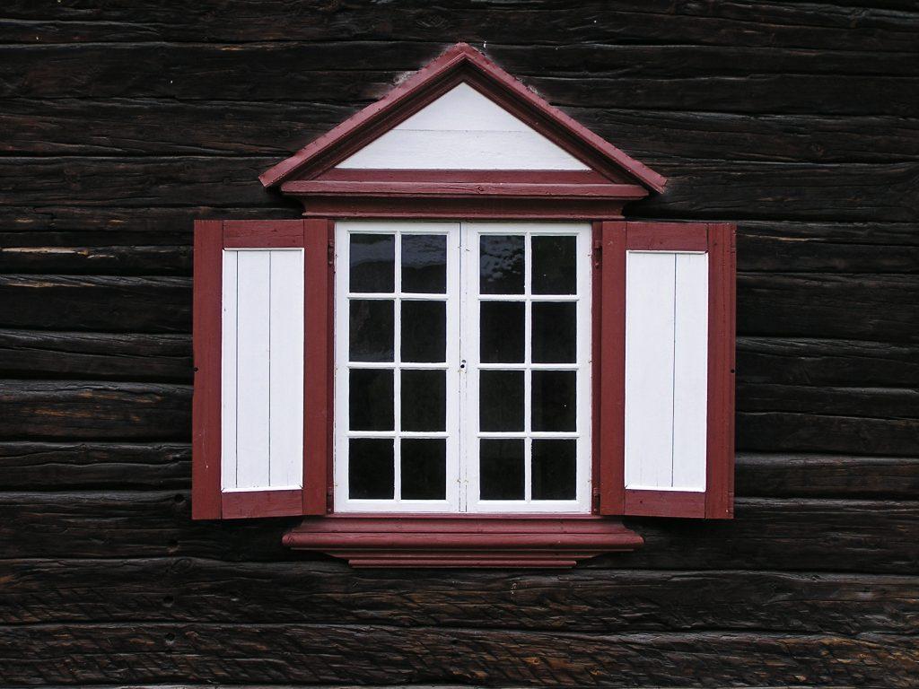 Fotografie Hobby Detail Fenster Holzhaus