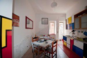 Airbnb mit Kindern Rom Küche