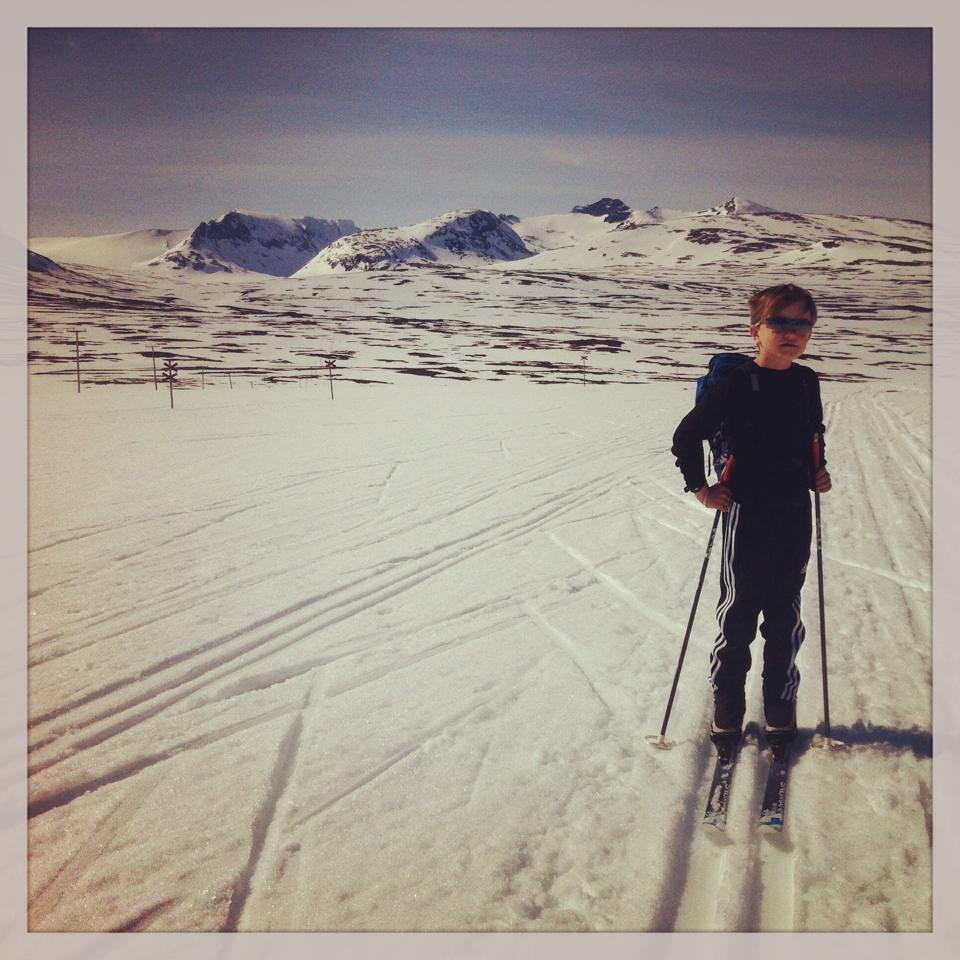 Skilaufen im Stugudal Norwegen
