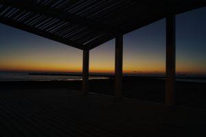 Sonnenuntergang Weihnachten in Alicante