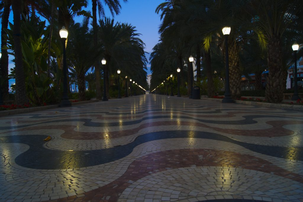 Explanada Winter in Alicante
