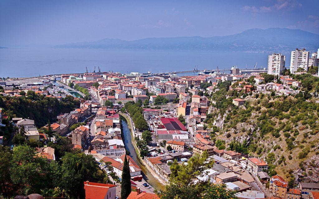 Aussicht von Trsat Rijeka