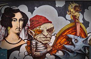 Rijeka kulturhauptstadt 2020 grafitti