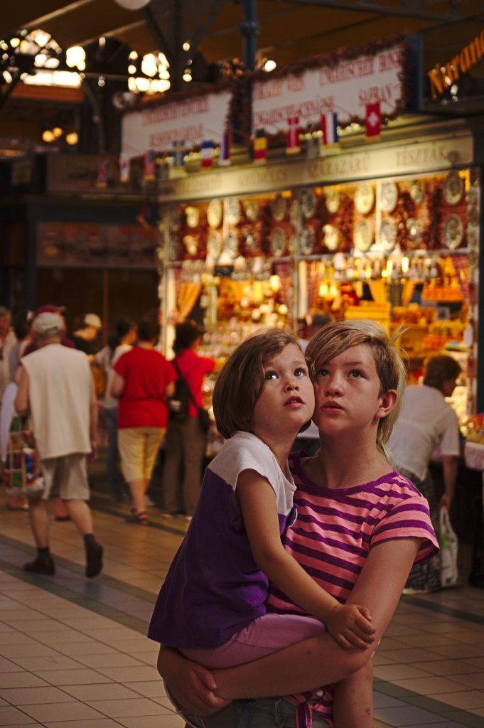 Kinder Markthalle budapest