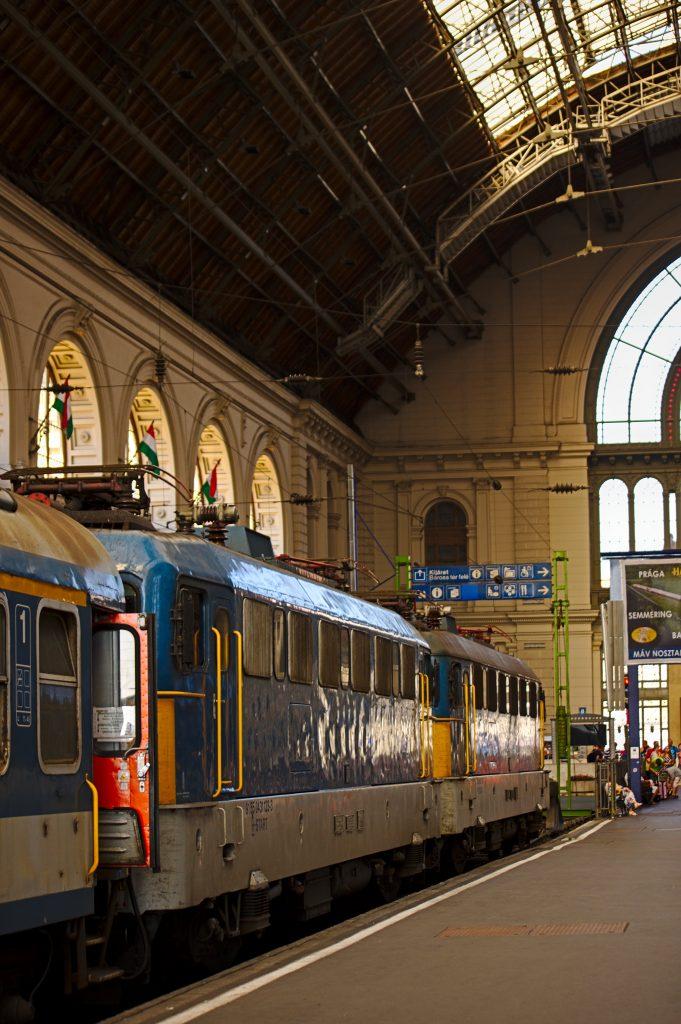 Nachtzug Budapest Bahnhof