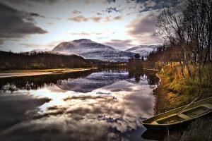 Norwegen Fakten, Berg ,See Boot
