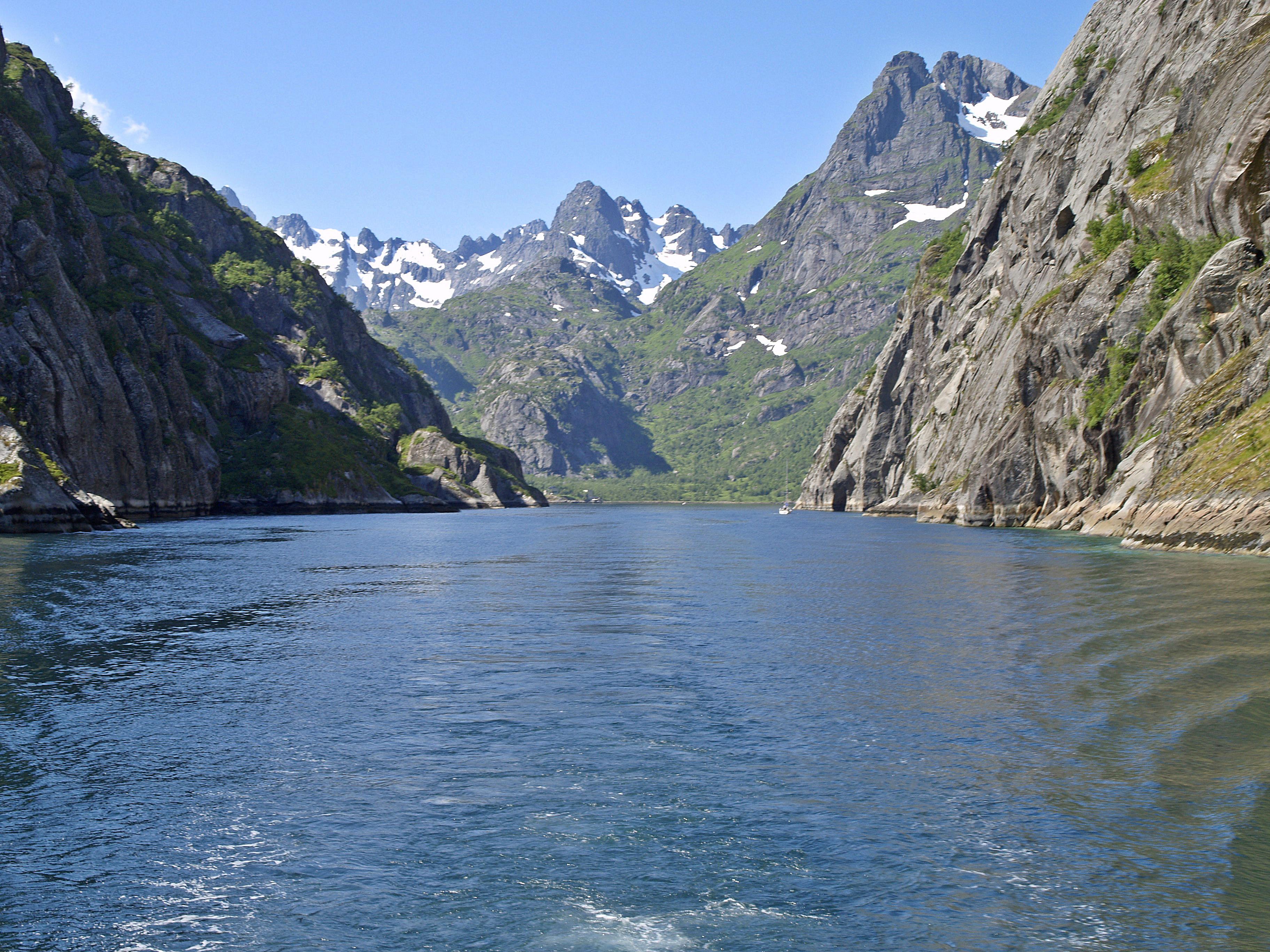 Lofoten Jedermannsrecht in Skandinavien