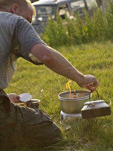 lofoten Jedermannsrecht in Skandinavien Feuer Gaskocher