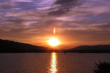 Sonnenuntergang Lillehammer Fakten über Norwegen