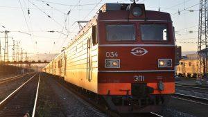 Transsibirische Eisenbahn Lok