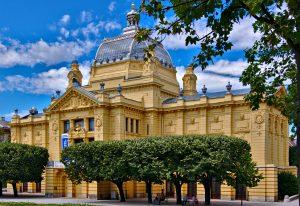 Nationaltheater Zagreb 24 Stunden in Zagreb interrail routen