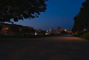 Vor dem Sonnenaufgang 24 stunden in Zagreb