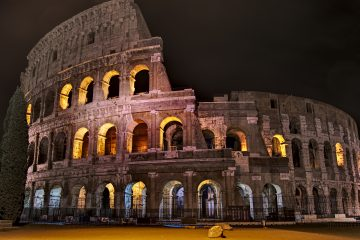 Kolosseum vor Sonneaufgang Rom kostenlos erleben