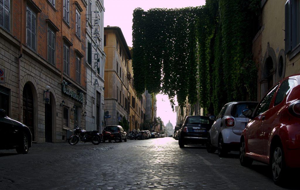 Strasse in Rom kostenlos erleben