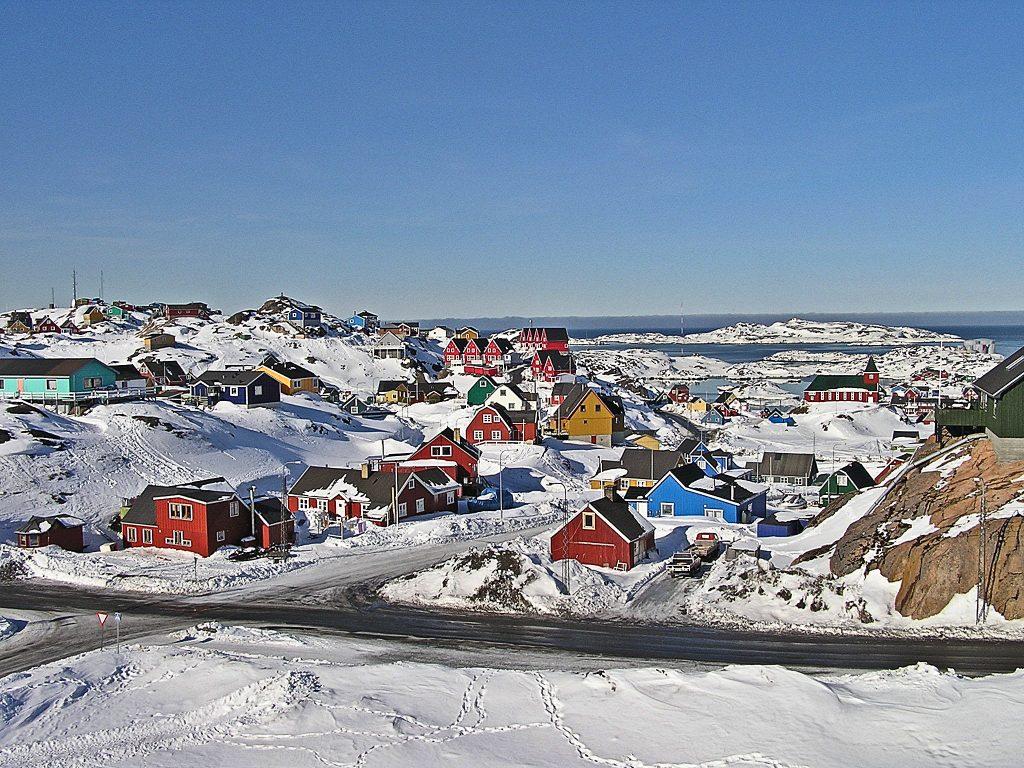 Sisimiut Grönland Häuser