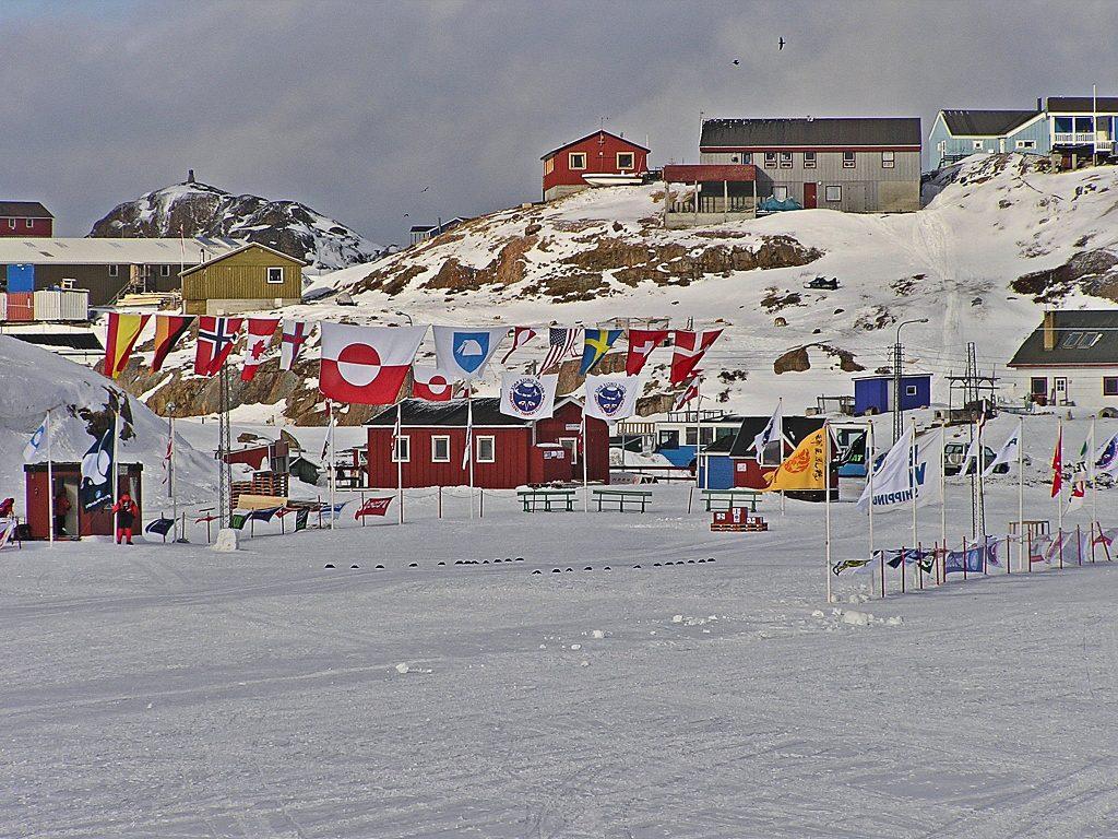 Sisimiut Start arctic circle race