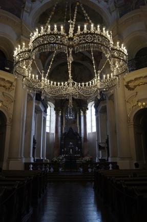 Prag mit kidnern Veitsdom innenansicht