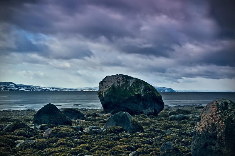 Strand in der Nähe von Stjørdal/Norwegen