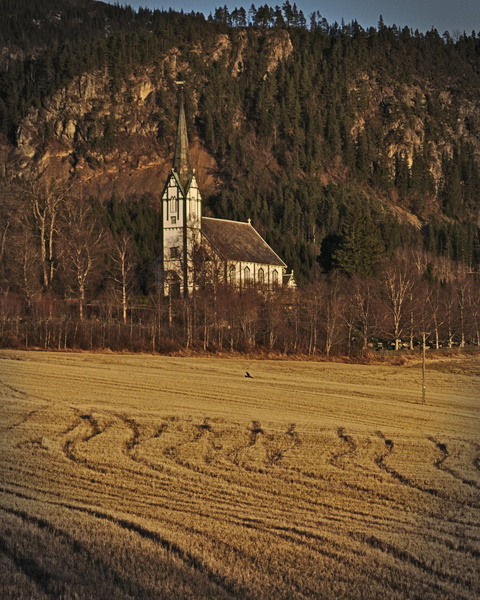 Skatval kirche Stjørdal, ostern in norwegen