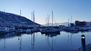 Tromsø aussicht Boote Lieblingsstadt im Norden
