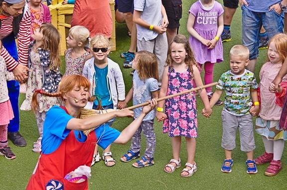 Kinder und Pippi Langstrumpf Astrid Lindgrens Welt