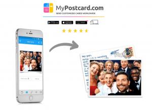 MyPostcard.com vom Foto zur Postkarte