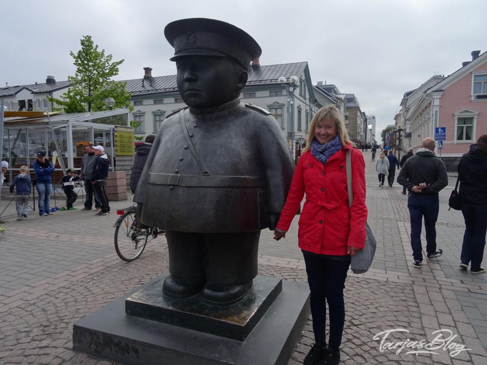 oulu toripolliisi Marktspolizist meine lieblingsstadt im Norden