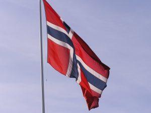 Norwegische Fahne norwegen von a bis z