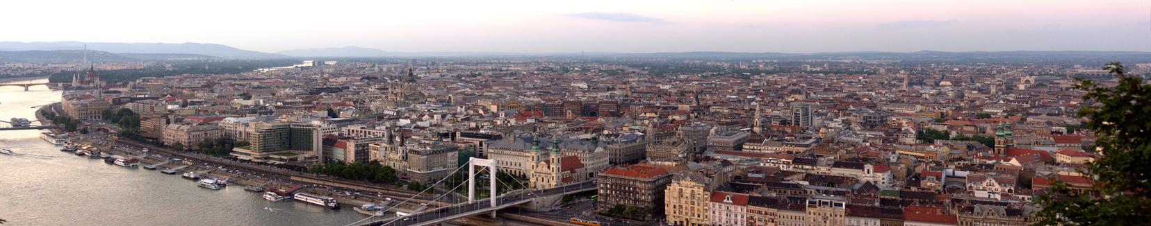 Budapest panorama interrail routen