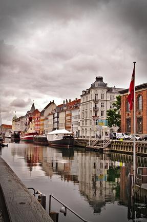 Interrail Routen nyhavn Kopenhagen