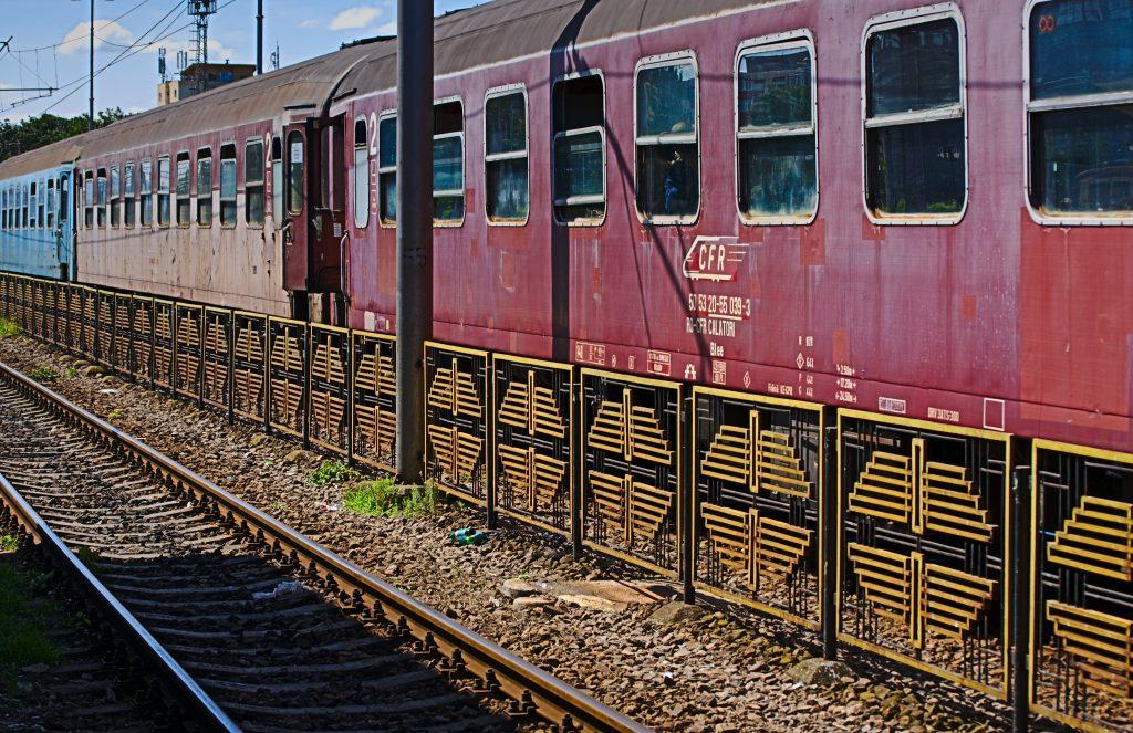 Interrail Routen roter Zug